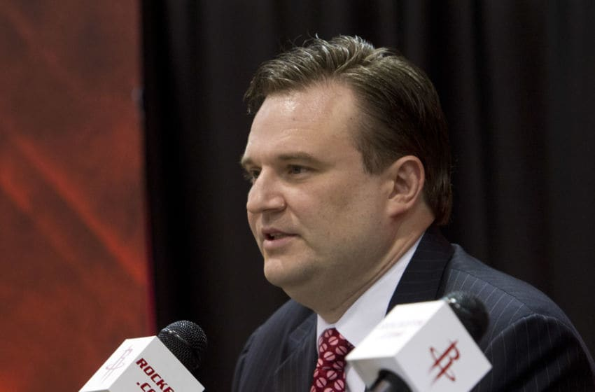 Daryl Morey of the Houston Rockets (Photo by Bob Levey/Getty Images)