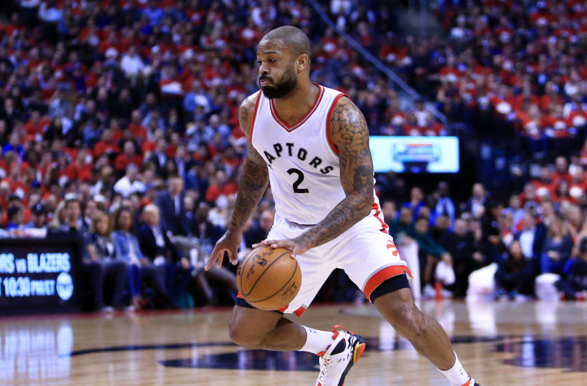 TORONTO, ON - APRIL 24: P.J. Tucker