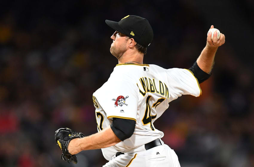 Free agent pitcher Josh Lindblom, a possible target by the Houston Astros (Photo by Joe Sargent/Getty Images)