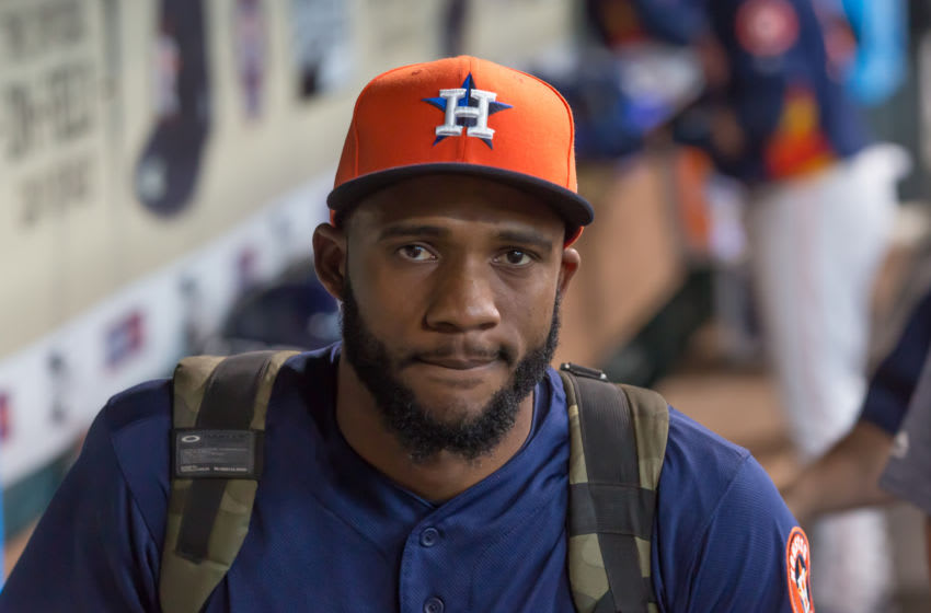 Houston Astros pitcher Reymin Guduan (Photo by Leslie Plaza Johnson/Icon Sportswire via Getty Images)