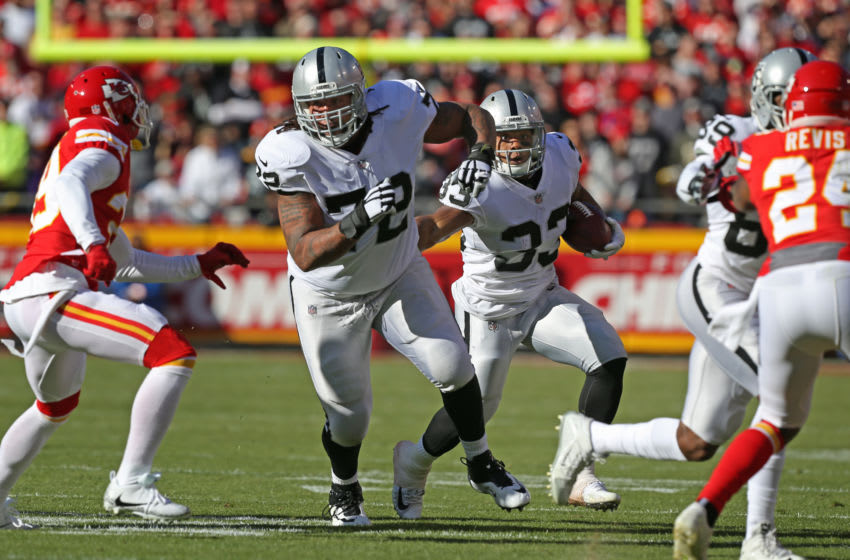 Potential Houston Texans trade target Donald Penn (Photo by Scott Winters/Icon Sportswire via Getty Images)