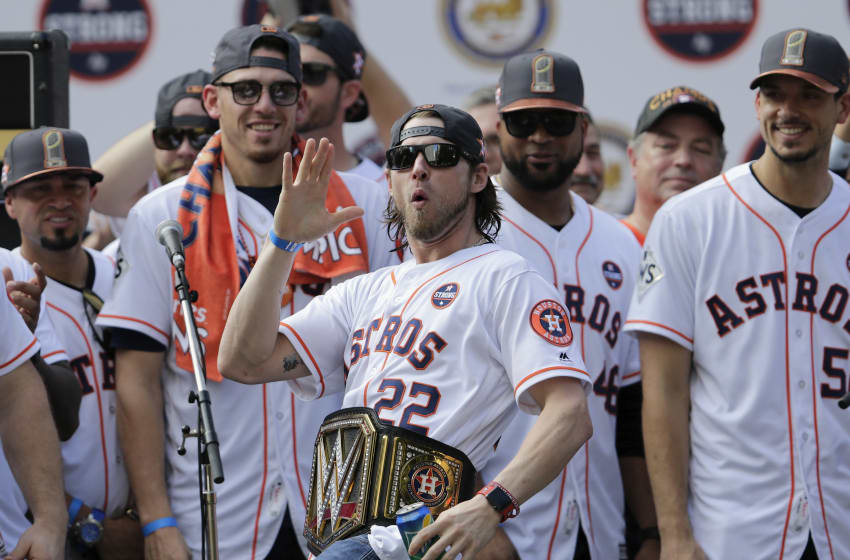 Houston Astros World Series Parade 2017 (Photo by Tim Warner/Getty Images)
