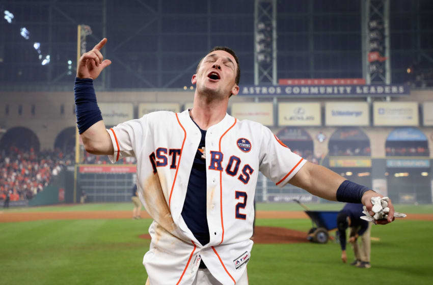 HOUSTON, TX - OCTOBER 30: Alex Bregman