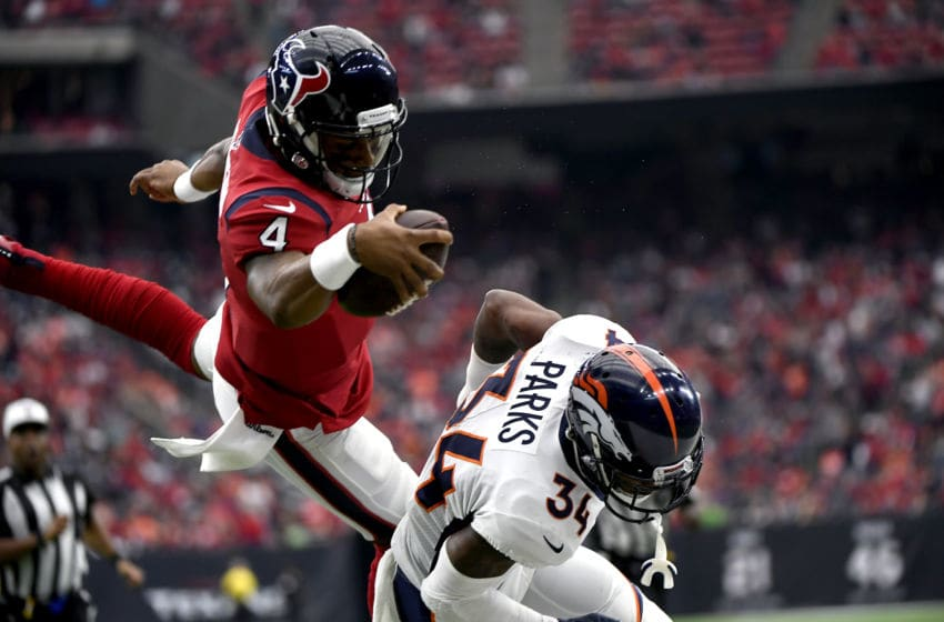 Houston Texans quarterback Deshaun Watson | Houston Sports (Photo by Joe Amon/MediaNews Group/The Denver Post via Getty Images)