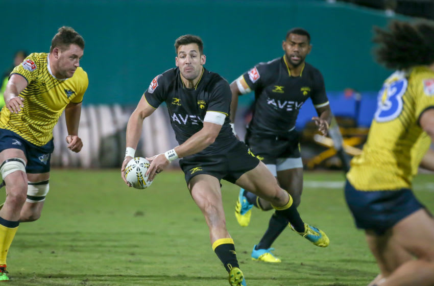 Houston SaberCats flyhalf Sam Windsor | Houston Sports (Photo by Leslie Plaza Johnson/Icon Sportswire via Getty Images)