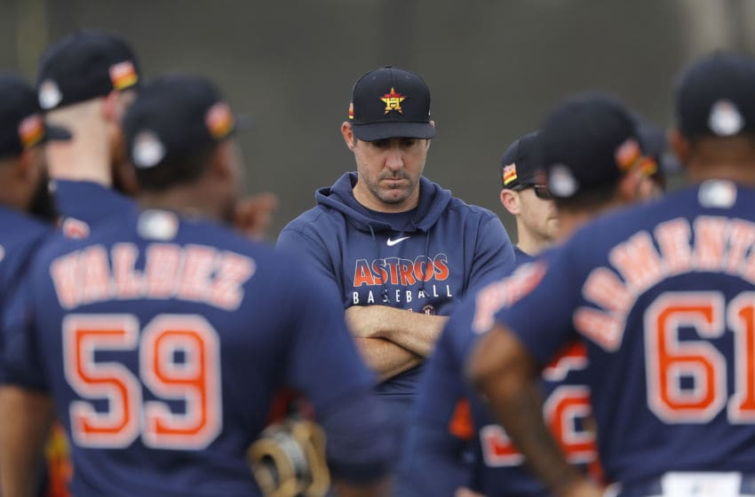 Houston Astros pitcher Justin Verlander (Photo by Michael Reaves/Getty Images)