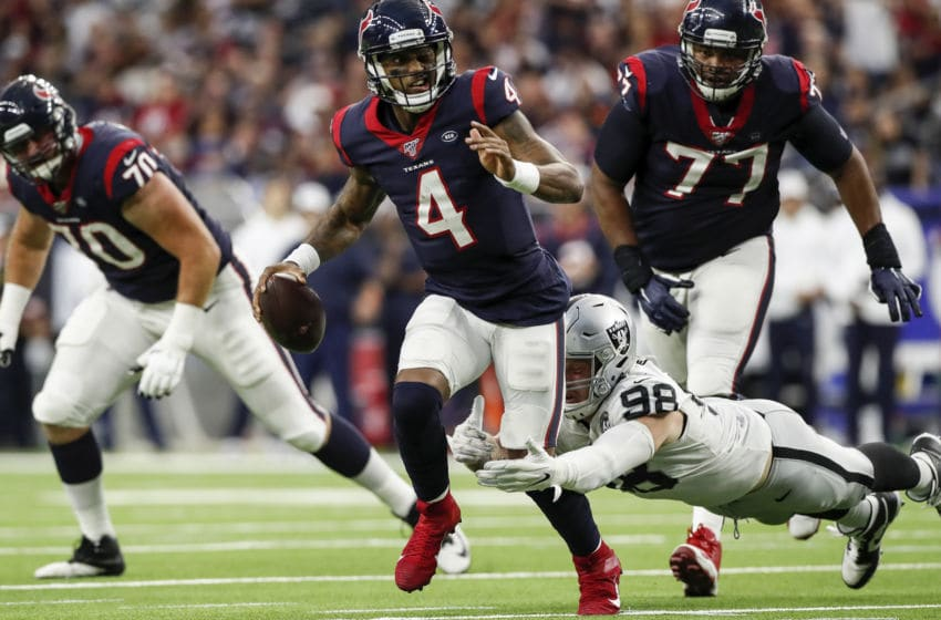 Houston Texans quarterback Deshaun Watson (Photo by Tim Warner/Getty Images)