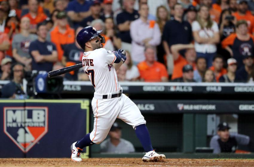 Houston Astros second baseman Jose Altuve (Photo by Elsa/Getty Images)