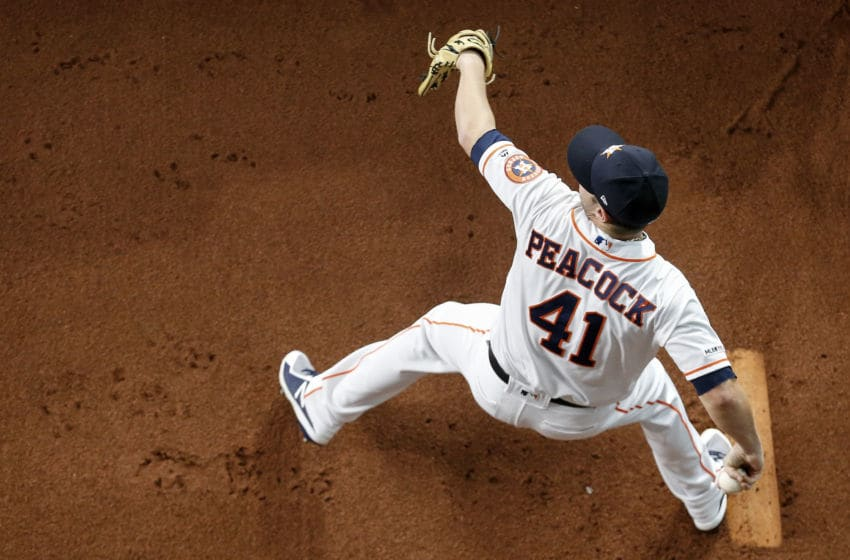 Houston Astros pitcher Brad Peacock (Photo by Tim Warner/Getty Images)