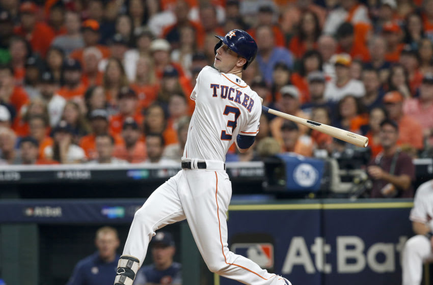 Houston Astros outfielder Kyle Tucker (Photo by Tim Warner/Getty Images)