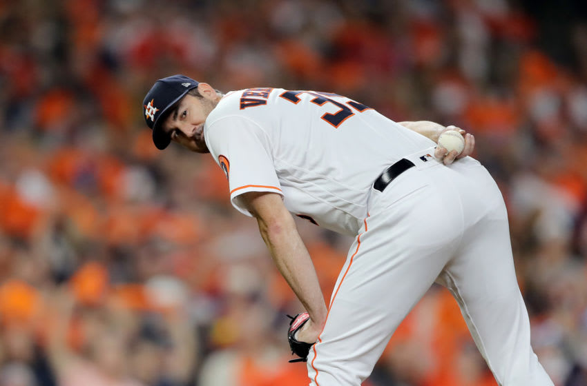 Houston Astros pitcher Justin Verlander (Photo by Elsa/Getty Images)
