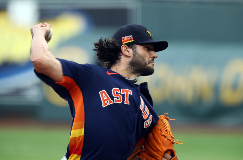 Houston Astros pitcher Lance McCullers Jr. (Photo by Jamie Squire/Getty Images)