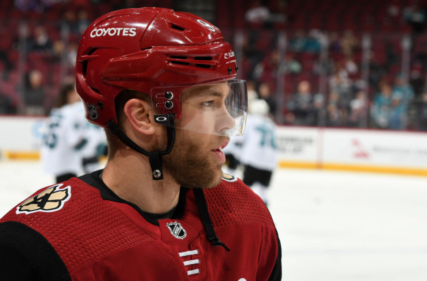 Arizona Coyotes: Taylor Hall continues to impress and lead ...