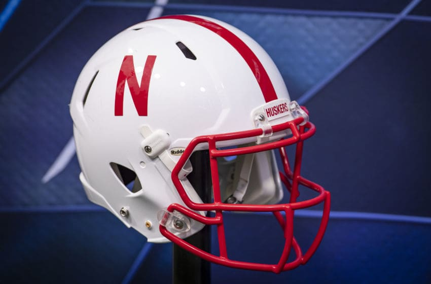 CHAMPAIGN, IL - SEPTEMBER 21: An Nebraska Cornhuskers helmet is seen before the game against the Illinois Fighting Illini at Memorial Stadium on September 21, 2019 in Champaign, Illinois. (Photo by Michael Hickey/Getty Images)