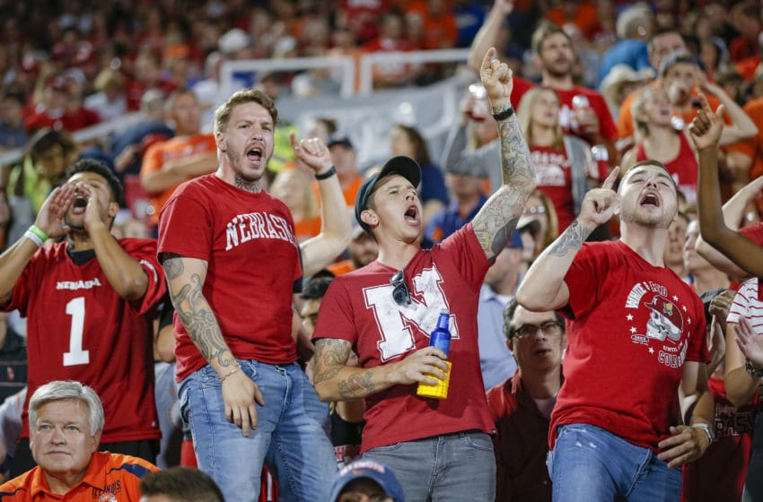 CHAMPAIGN, IL - SEPTEMBER 21: Nebraska Cornhuskers fans are seen during the game against the Illinois Fighting Illini at Memorial Stadium on September 21, 2019 in Champaign, Illinois. (Photo by Michael Hickey/Getty Images)