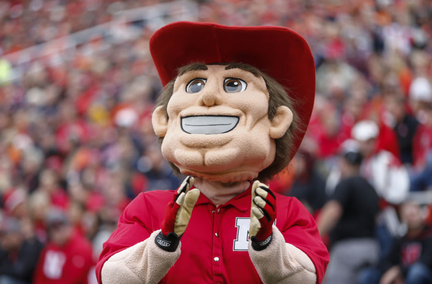 CHAMPAIGN, IL - OCTOBER 3: Nebraska Cornhuskers mascot Herbie Husker is seen during the game against the Illinois Fighting Illini at Memorial Stadium on October 3, 2015 in Champaign, Illinois. Illinois defeated Nebraska 14-13. (Photo by Michael Hickey/Getty Images)