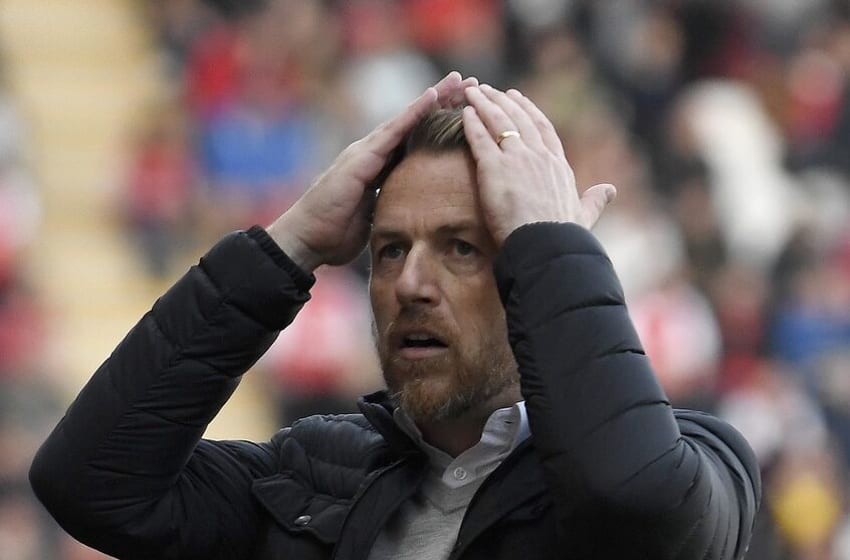 ROTHERHAM, ENGLAND - SEPTEMBER 29: Stoke City manager Gary Rowett reacts during the Sky Bet Championship match between Rotherham United and Stoke City at The New York Stadium on September 29, 2018 in Rotherham, England. (Photo by George Wood/Getty Images)