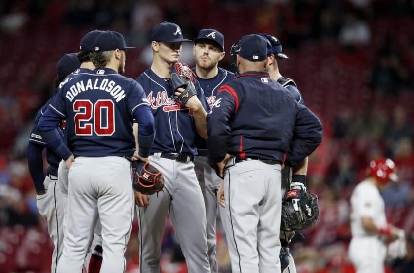 Atlanta Braves, Brian Snitker (Photo by Joe Robbins/Getty Images)