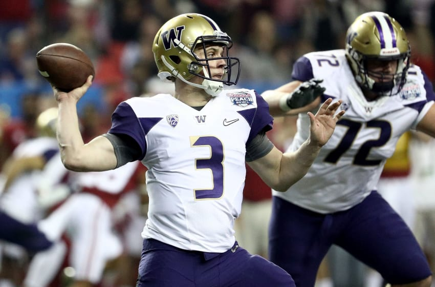 ATLANTA, GA - DECEMBER 31: Jake Browning
