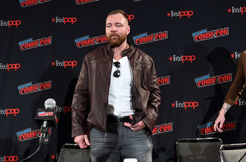 NEW YORK, NEW YORK - OCTOBER 04: Jon Moxley attends the All Elite Wrestling panel during 2019 New York Comic Con at Jacob Javits Center on October 04, 2019 in New York City. (Photo by Noam Galai/Getty Images for WarnerMedia Company)