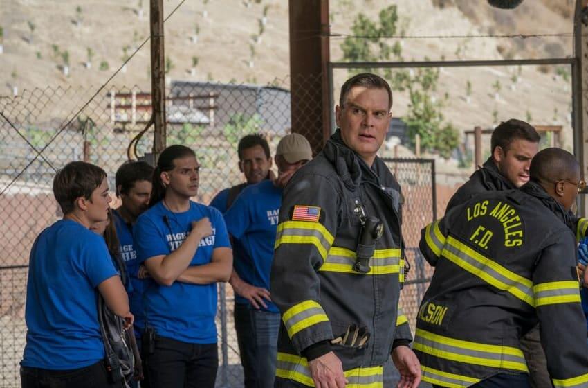 "9-1-1: Peter Krause in the ""Rage"" episode of 9-1-1 airing Monday, Oct. 21 (8:00-9:01 PM ET/PT) on FOX. © 2019 FOX MEDIA LLC. CR: Jack Zeman/FOX."