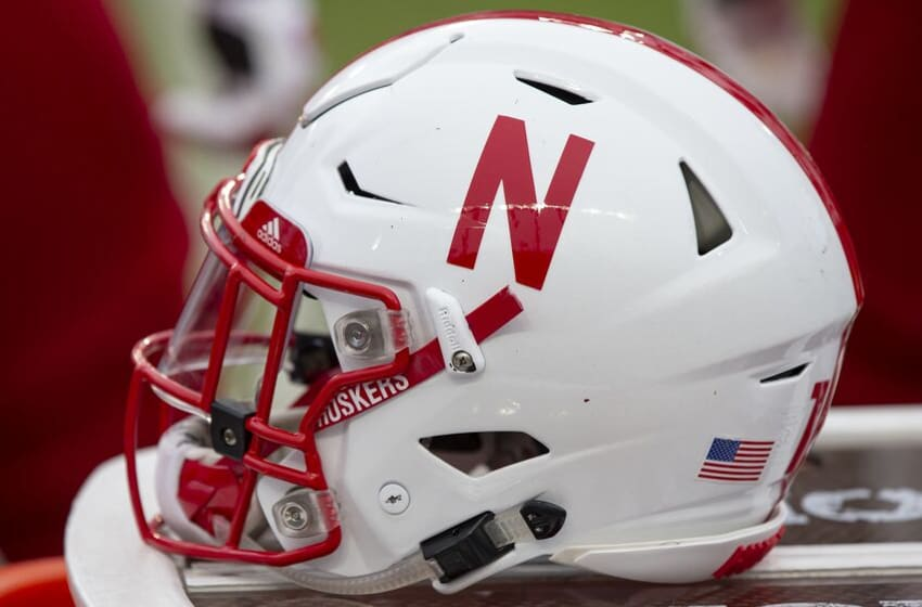 WEST LAFAYETTE, IN - NOVEMBER 02: A Nebraska Cornhuskers helmet is seen during the game against the Purdue Boilermakers at Ross-Ade Stadium on November 2, 2019 in West Lafayette, Indiana. (Photo by Michael Hickey/Getty Images)