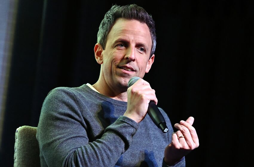 NEW YORK, NY - MAY 22: (EXCLUSIVE COVERAGE) Creator/executive producer/writer Seth Meyers attends panel discussion for Documentasry Now! on IFC on May 22, 2019 in New York City. (Photo by Slaven Vlasic/Getty Images for AMC)