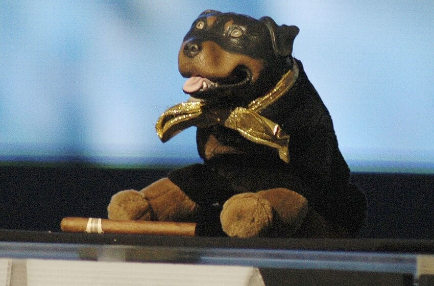 LAS VEGAS - NOVEMBER 17: Triumph the Insult Comic Dog performs during the taping of the