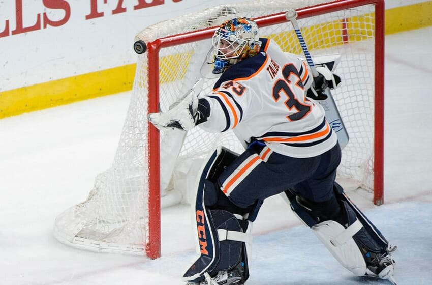ST PAUL, MN - APRIL 2: Cam Talbot