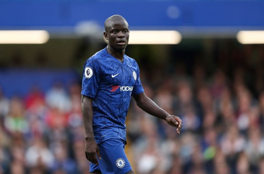LONDON, ENGLAND - SEPTEMBER 22: NGolo Kante of Chelsea during the Premier League match between Chelsea FC and Liverpool FC at Stamford Bridge on September 22, 2019 in London, United Kingdom. (Photo by James Williamson - AMA/Getty Images)