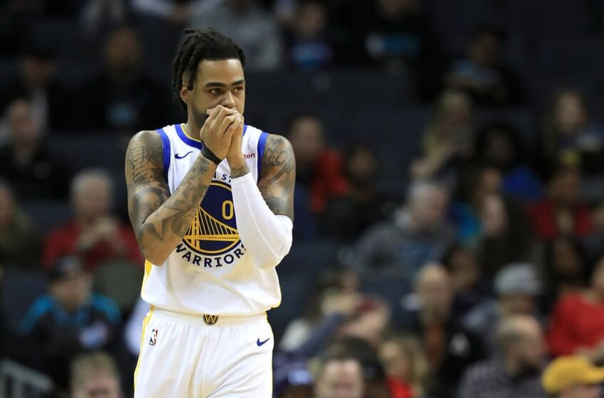 NBA Golden State Warriors D'Angelo Russell . (Photo by Streeter Lecka/Getty Images)