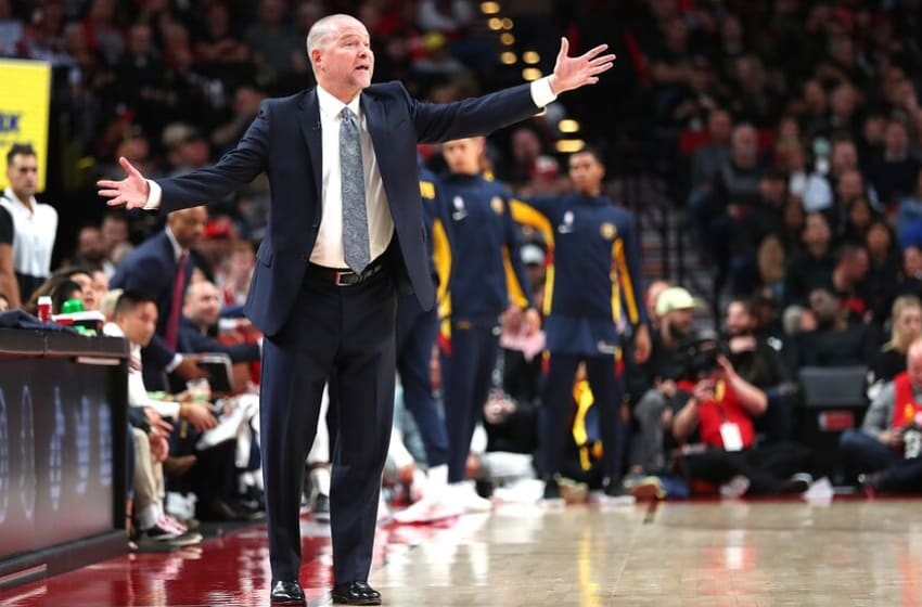NBA Denver Nuggets Michael Malone (Photo by Abbie Parr/Getty Images)
