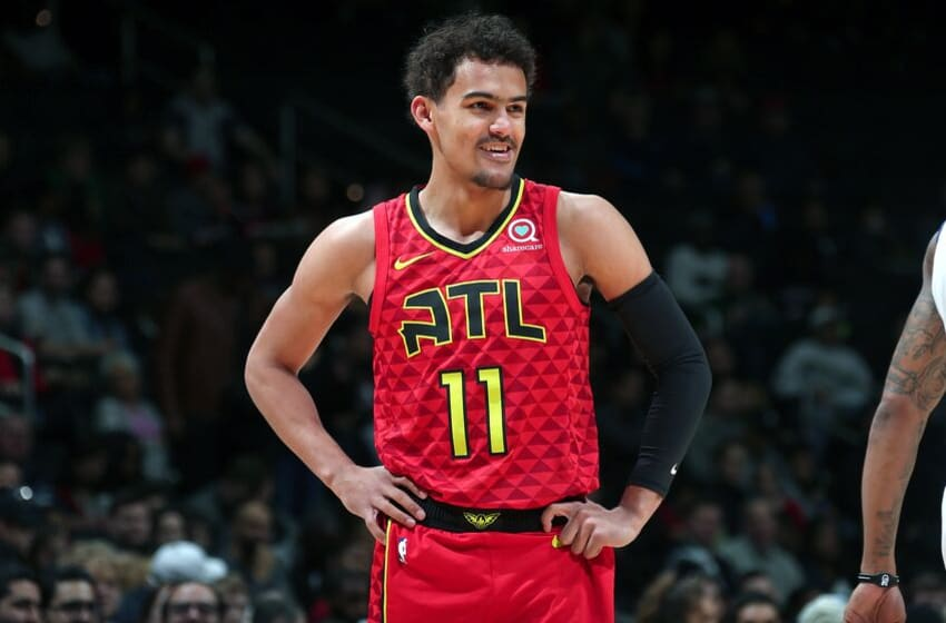 Trae Young #11 of the Atlanta Hawks (Photo by Ned Dishman/NBAE via Getty Images)