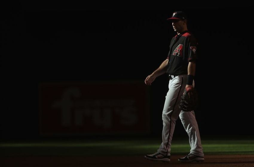 PHOENIX, AZ - JULY 21: Infielder Paul Goldschmidt #44 of the Arizona Diamondbacks during the MLB game against the Colorado Rockies at Chase Field on July 21, 2018 in Phoenix, Arizona. (Photo by Christian Petersen/Getty Images)