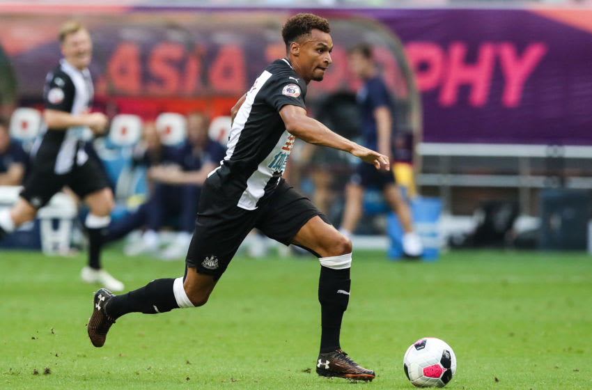 #7 Jacob Murphy of Newcastle United. (Photo by Zhizhao Wu/Getty Images)