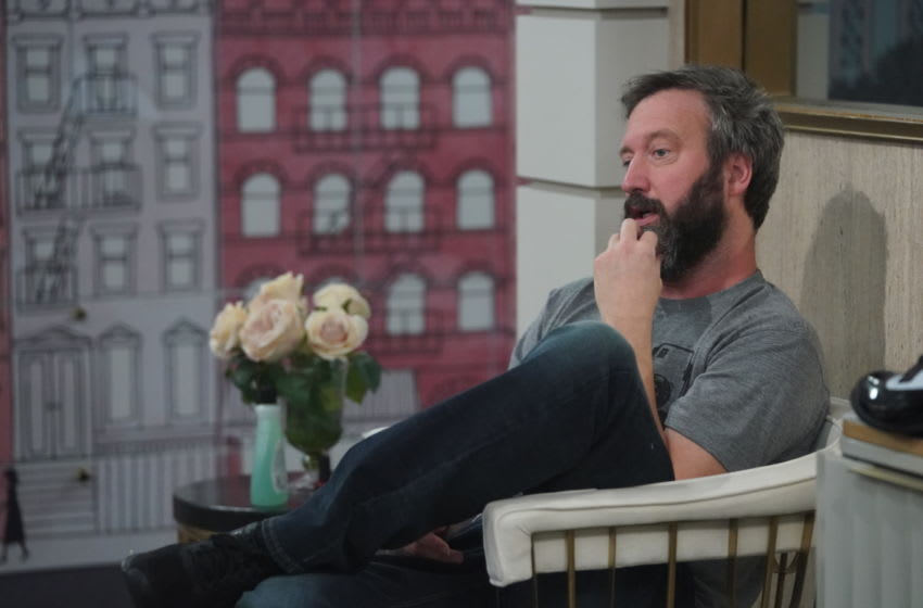 Big Brother 21 cast: Fake leaked lists hit social media. (Tom Green relaxing in the Big Brother House Photo: Sonja Flemming/CBS)