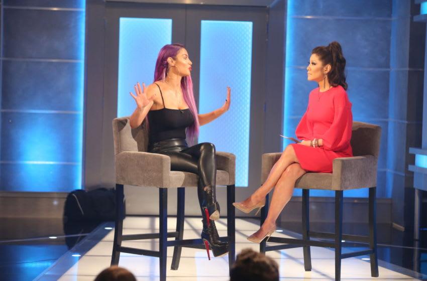 Big Brother 21 schedule: Slight shift to begin summer 2019 season. (Host Julie Chen Moonves talks to Natalie Eva Marie Photo: Sonja Flemming/CBS)