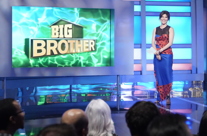 Host Julie Chen Moonves on the fifth live eviction on Big Brother. BIG BROTHER airs Sundays and Wednesdays (8:00-9:00 PM, ET/PT); and Thursdays (9:00-10:00 PM, live ET/delayed PT), featuring the live eviction show. Photo: Robert Voets/CBS ©2019 CBS Broadcasting, Inc. All Rights Reserved