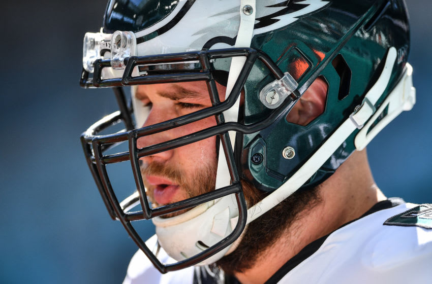 Lane Johnson (Photo by Mark Brown/Getty Images)