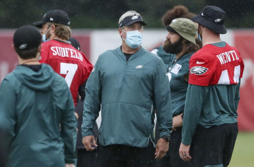 Doug Pederson, Philadelphia Eagles (Photo by Heather Khalifa-Pool/Getty Images)