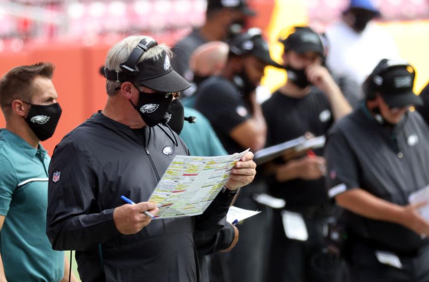 Doug Pederson, Philadelphia Eagles (Photo by Rob Carr/Getty Images)
