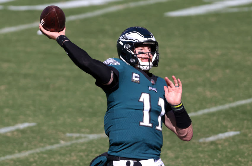 Carson Wentz, Philadelphia Eagles (Photo by Rob Carr/Getty Images)