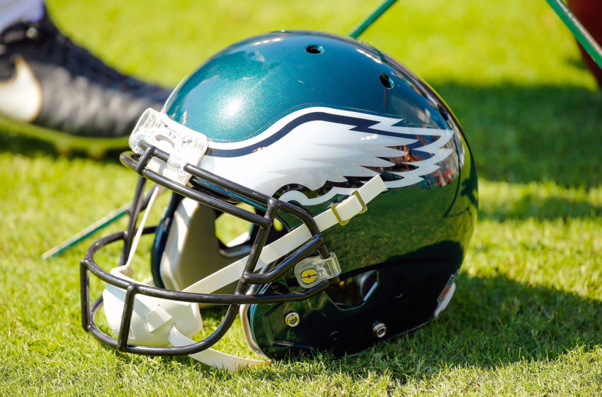 Philadelphia Eagles helmet (Photo by Frederick Breedon/Getty Images)