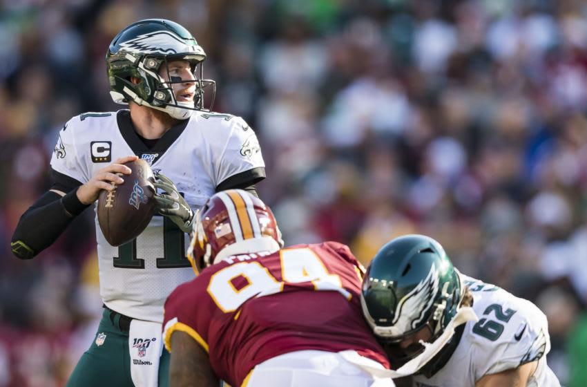 Carson Wentz, Philadelphia Eagles (Photo by Scott Taetsch/Getty Images)