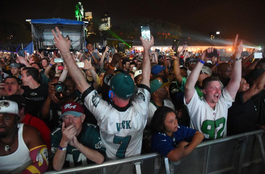 Philadelphia Eagles fans (Mandatory Credit: James Lang-USA TODAY Sports)