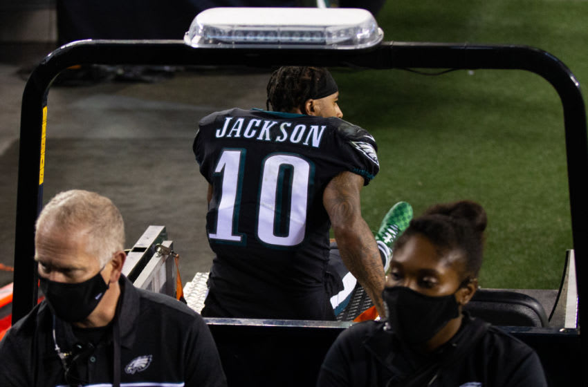 DeSean Jackson (10), Philadelphia Eagles: Mandatory Credit: Bill Streicher-USA TODAY Sports