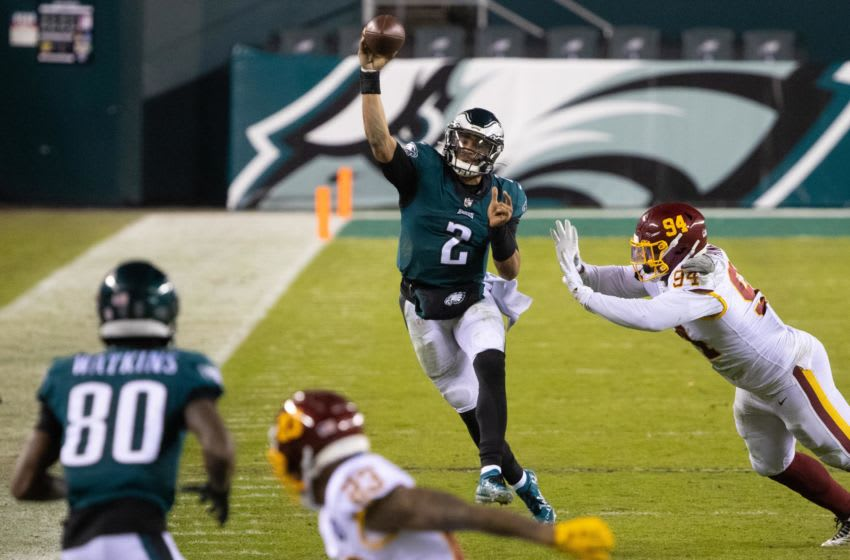 Jalen Hurts, Philadelphia Eagles (Mandatory Credit: Bill Streicher-USA TODAY Sports)