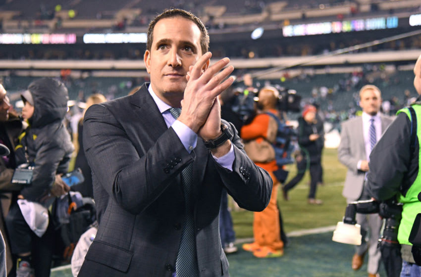 Howie Roseman, Philadelphia Eagles (Mandatory Credit: Eric Hartline-USA TODAY Sports)