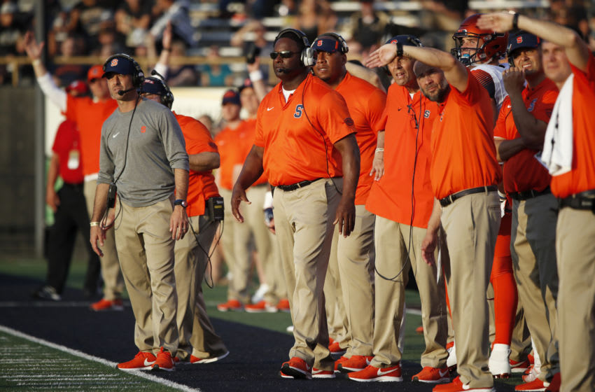 Syracuse football (Photo by Joe Robbins/Getty Images)