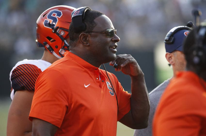 Dino Babers, Syracuse football (Photo by Joe Robbins/Getty Images)